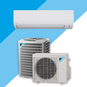 Ducted & ductless heat pumps